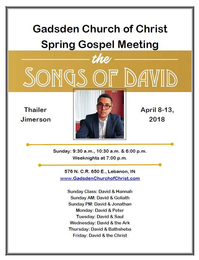 Spring meeting 2018